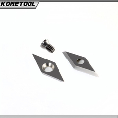 Diamond Shape Carbide Insert Cutter for Wood Turning Blade VEMN160200