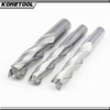 Three Flute Solid Carbide CNC Spiral End Mill