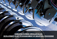 Cemented Carbide Circular Blade Development is Key to Advancement of Industrial Processing